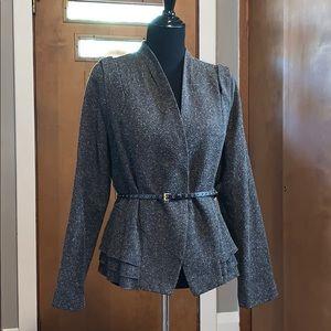 Worthington brown belted blazer, size large